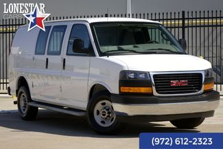 2017 GMC Savana 2500 Cargo Van Clean Carfax One Owner Warranty in Plano Texas, 75093