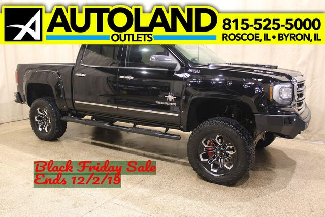 2017 Gmc Sierra 1500 Black Widow Slt Black Widow Roscoe Il