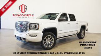 2017 GMC Sierra 1500 Denali 4WD ROOF,NAV,HTD/COOL LTH,CHROME 20'S,64K in Carrollton, TX 75006