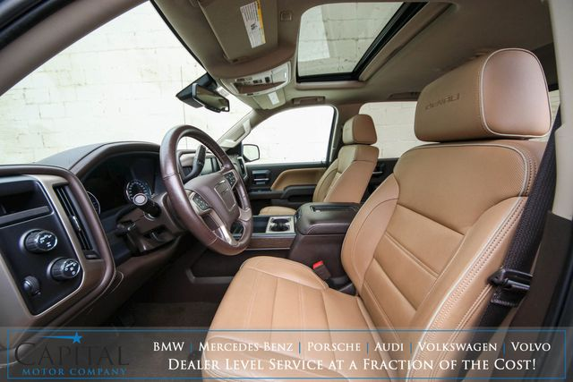 2017 GMC Sierra 1500 Denali 4x4 Crew Cab w/Nav, Backup Cam, Heated/Cooled Seats, Moonroof & BOSE Audio in Eau Claire, Wisconsin 54703