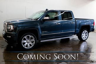 2017 GMC Sierra 1500 Denali Crew Cab 4x4 w/ Nav, Backup Cam, Heated/Ventilated Seats & Tow Pkg in Eau Claire, Wisconsin 54703