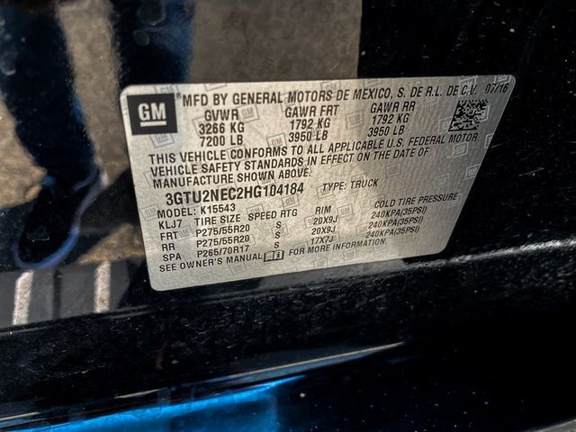 2017 GMC Sierra 1500 SLT Madison, NC 43