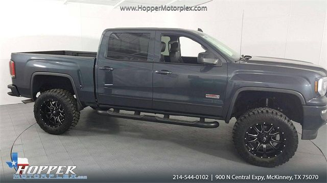 2017 GMC Sierra 1500 SLT All-Terrain Lifted Fuel Wheels