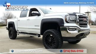 2017 GMC Sierra 1500 SLT LIFT/CUSTOM WHEELS AND TIRES in McKinney, Texas 75070