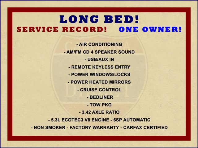 2017 GMC Sierra 1500 REG CAB Long Bed RWD - 5.3L V8 - 1 OWNER! Mooresville , NC 1