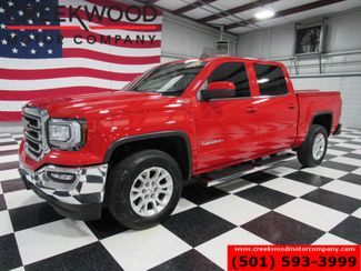 2017 GMC Sierra 1500 SLE 4x4 Z71 Red 1 Owner Low Miles Crew Cab CLEAN in Searcy, AR 72143
