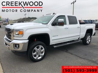 2017 GMC Sierra 2500HD SLT 4x4 Z71 Diesel White 1 Owner Nav 20s NewTires in Searcy, AR 72143