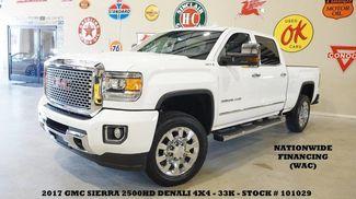 2017 GMC Sierra 2500HD Denali 4X4 6.0L,SUNROOF,NAV,HTD/COOL LTH,20'S,33K! in Carrollton TX, 75006