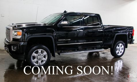 2017 GMC Sierra Denali 2500HD 4x4 w/Duramax Diesel, NAV, Moonroof, Heated/Cooled Seats and BOSE Audio in Eau Claire