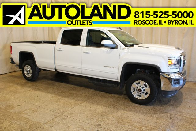 2017 GMC Sierra 2500HD Long Bed Diesel 4x4 SLE