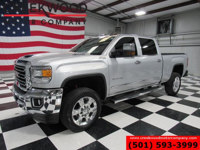 2017 GMC Sierra 2500HD SLT 4x4 Diesel 1 Owner Nav Sunroof 20s New Tires in Searcy, AR 72143