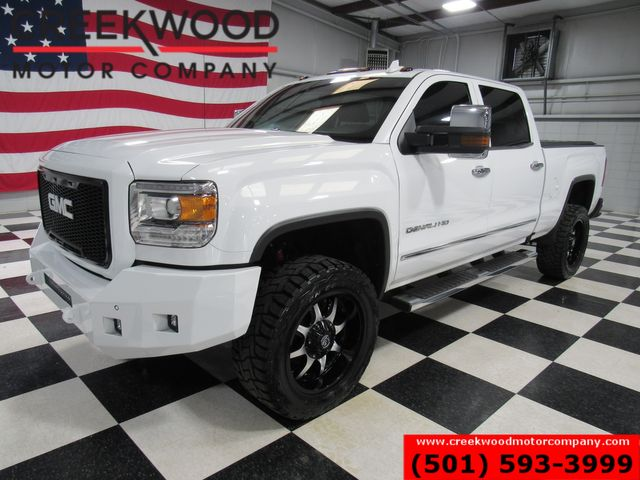 2017 GMC Sierra 2500HD Denali 4x4 6.0L Gas White Lifted 20s Nav Roof NICE in Searcy, AR 72143