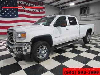 2017 GMC Sierra 2500HD SLE 4x4 6.0L Gas White Long Bed New Tires 1 Owner in Searcy, AR 72143