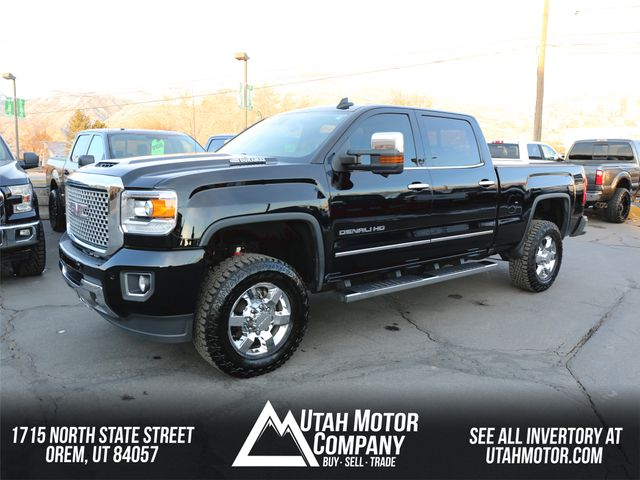 2017 GMC Sierra 3500HD Denali in Orem, Utah 84057