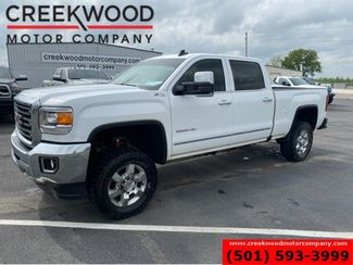 2017 GMC Sierra 2500HD SLT 4x4 Z71 White 6.0L Gas White New Tires 1 Owner in Searcy, AR 72143
