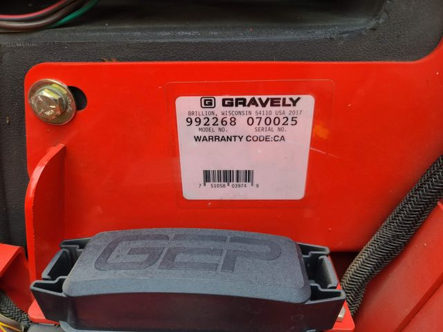 2017 Gravely ProTurn 252 in Hope Mills, NC 28348