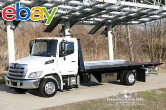 2017 Hino 258 KILAR ROLLBACK 7.6L DIESEL ONLY 24K MILES in Woodbury New Jersey, 08096