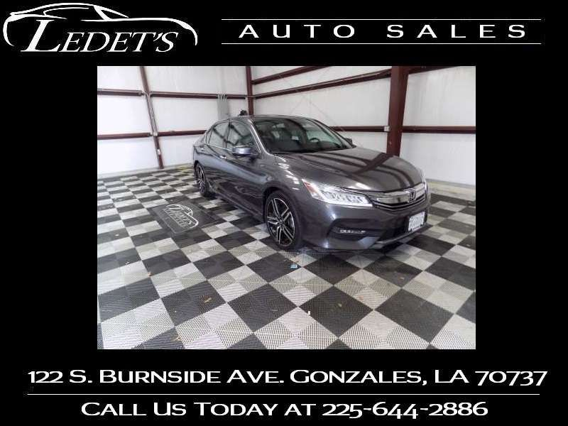 2017 Honda Accord Touring - Ledet's Auto Sales Gonzales_state_zip in Gonzales Louisiana