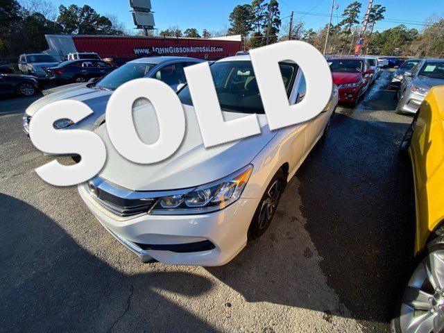 2017 Honda Accord LX - John Gibson Auto Sales Hot Springs in Hot Springs Arkansas