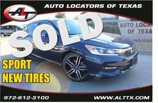 2017 Honda Accord Sport | Plano, TX | Consign My Vehicle in  TX