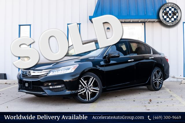 2017 Honda Accord NAV LEATHER SUNROOF LOADED CLEAN CARFAX 2 OWNERS in Rowlett
