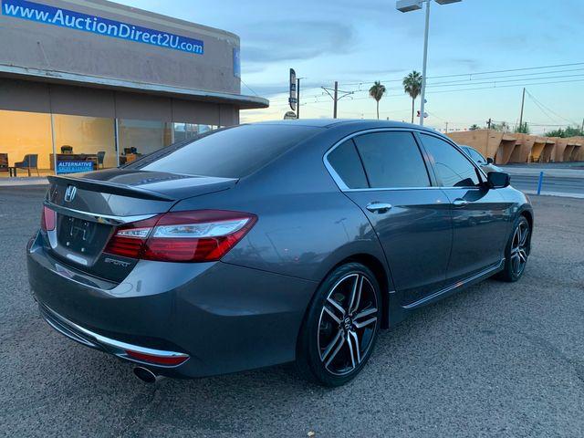 2017 Honda Accord Sport 5 YEAR/60,000 MILE FACTORY POWERTRAIN WARRANTY Mesa, Arizona 4