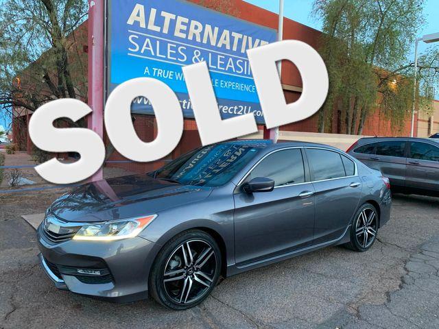 2017 Honda Accord Sport 5 YEAR/60,000 MILE FACTORY POWERTRAIN WARRANTY Mesa, Arizona