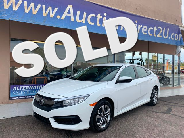 2017 Honda Civic LX FULL MANUFACTURER WARRANTY Mesa, Arizona