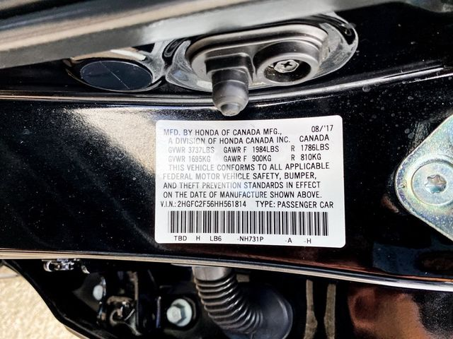 2017 Honda Civic LX Madison, NC 35