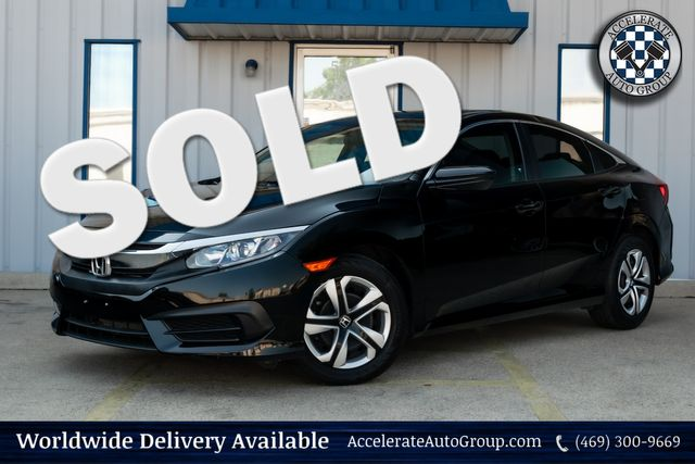 2017 Honda Civic LX in Rowlett