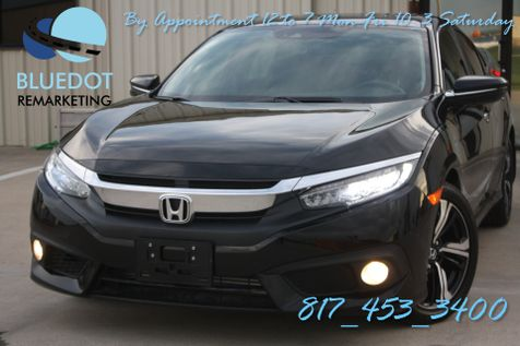 2017 Honda Civic Touring | NAV-LANE DEP WARNING- REAR AND SIDE CAMERA-VERY NICE LOW MILES~ in Mansfield, TX
