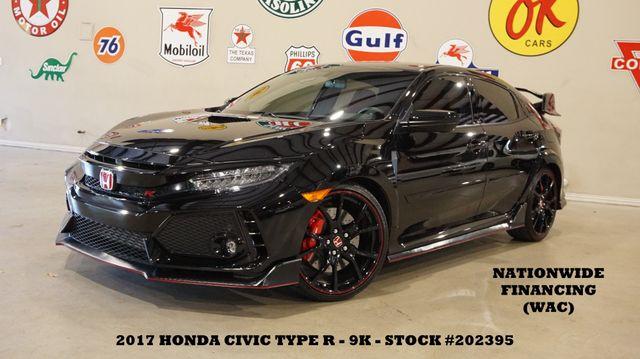 2017 Honda Civic Type R Touring 6 SPD,NAV,BACK-UP CAM,20'S,9K,WE FINANCE