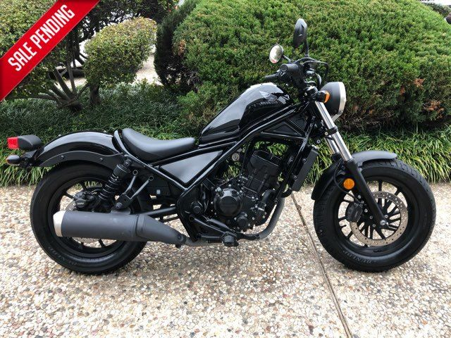 2017 Honda CMX300A Rebel (ABS) ** ONLY 1612 MILES**