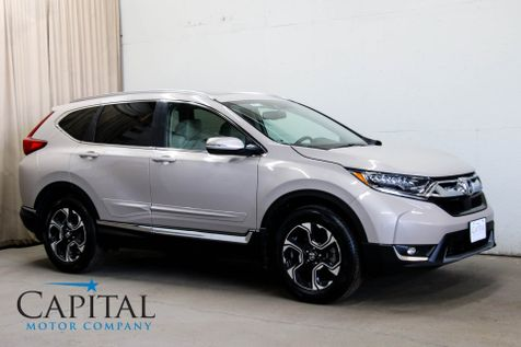 2017 Honda CR-V Touring AWD Crossover w/Navigation, Heated Seats, Keyless Start, Moonroof & Apple CarPlay in Eau Claire