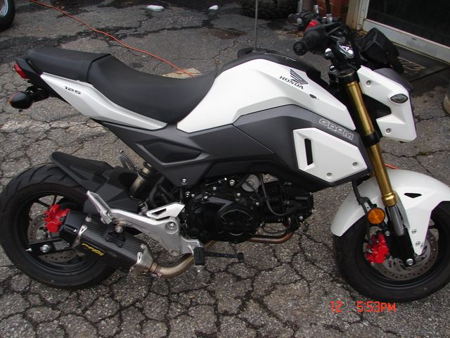 2017 Honda Grom 125 Spartanburg, South Carolina