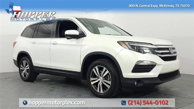 2017 Honda Pilot EX-L w/Rear Entertainment System in McKinney, Texas 75070