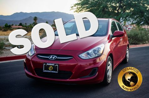 2017 Hyundai Accent SE in cathedral city