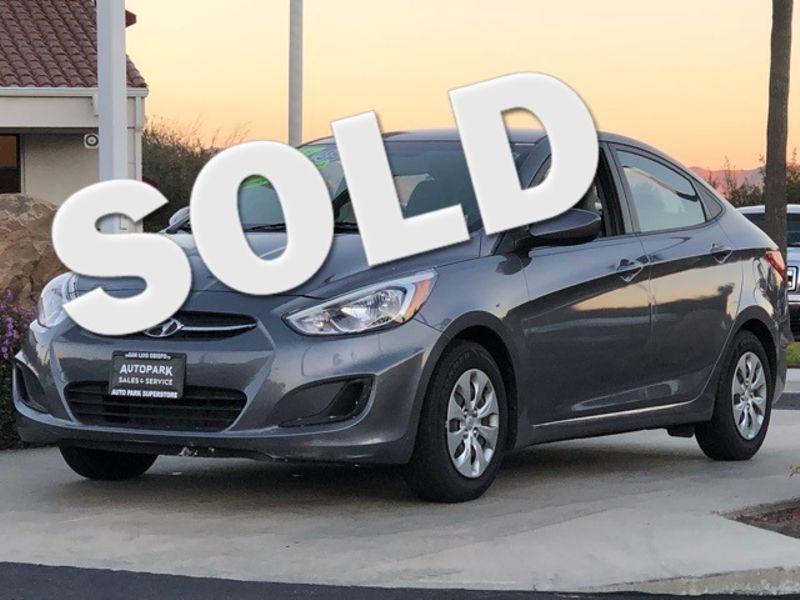2017 Hyundai Accent SE | San Luis Obispo, CA | Auto Park Sales & Service in San Luis Obispo CA