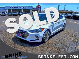 2017 Hyundai Elantra Limited   Lubbock, TX   Brink Fleet in Lubbock TX