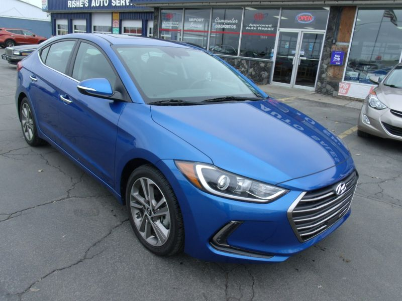 2017 Hyundai Elantra Limited New!! 24 Miles! | Rishe's Import Center in Ogdensburg NY