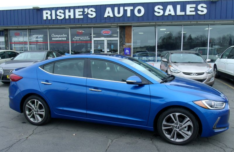 2017 Hyundai Elantra Limited New 24 Miles! | Rishe's Import Center in Ogdensburg New York