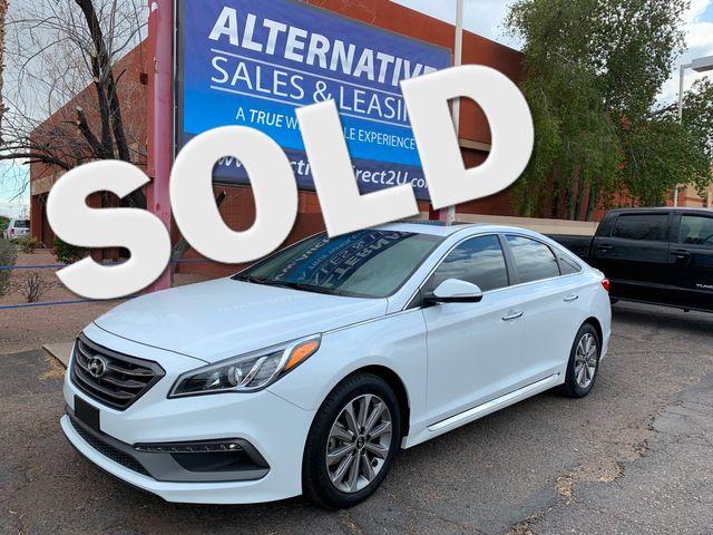 2017 Hyundai Sonata Limited FULL MANUFACTURER WARRANTY Mesa, Arizona