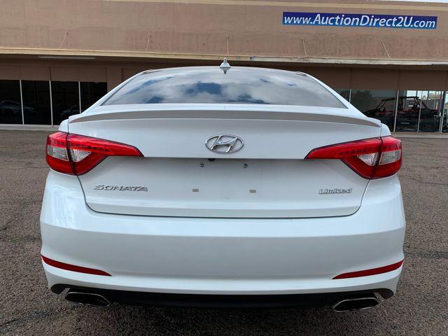 2017 Hyundai Sonata Limited FULL MANUFACTURER WARRANTY Mesa, Arizona 3