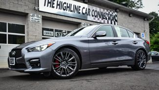 2017 Infiniti Q50 Red Sport 400 Waterbury, Connecticut 16
