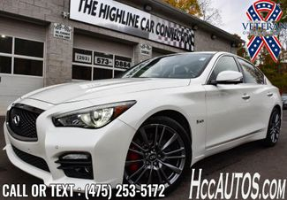 2017 Infiniti Q50 Red Sport 400 Waterbury, Connecticut