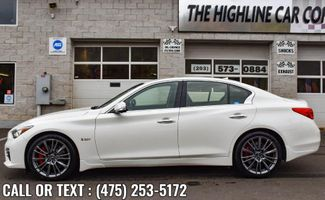 2017 Infiniti Q50 Red Sport 400 Waterbury, Connecticut 3