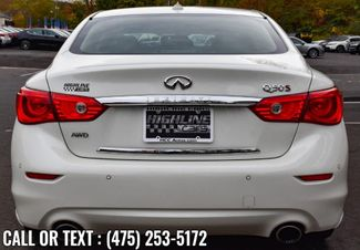 2017 Infiniti Q50 Red Sport 400 Waterbury, Connecticut 5