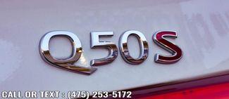 2017 Infiniti Q50 Red Sport 400 Waterbury, Connecticut 14