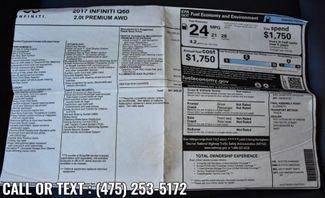 2017 Infiniti Q60 2.0t Premium Waterbury, Connecticut 45