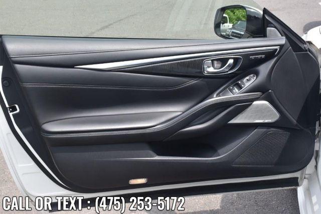 2017 Infiniti Q60 3.0t Premium Waterbury, Connecticut 19
